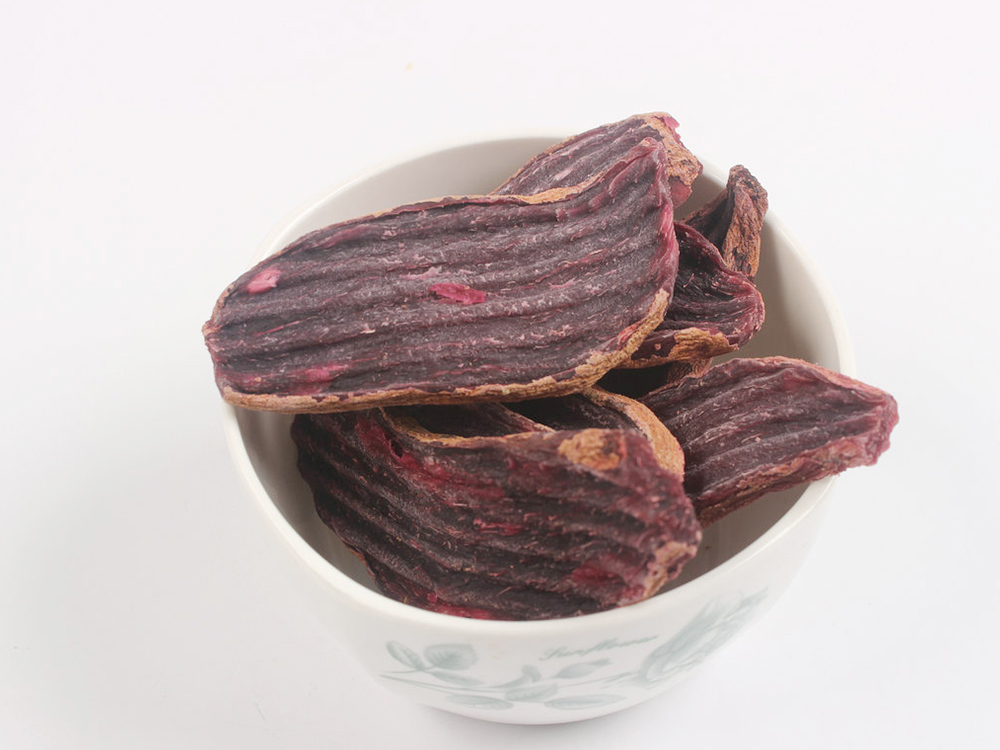 Purple Potato Corrugated Strips