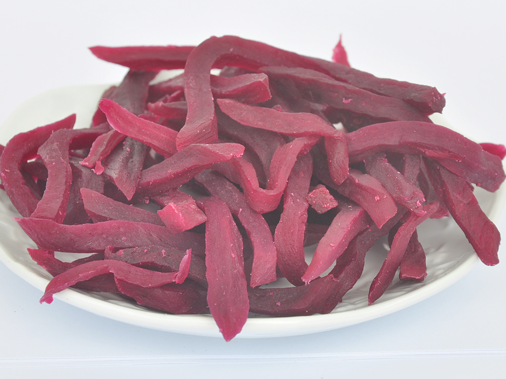 Purple Sweet Potato Strips